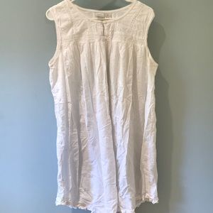 Gilligan and O'Malley white lace nightgown.